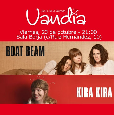 Vandia: BOAT BEAM + KIRA KIRA