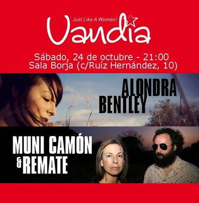 VANDIA: ALONDRA BENTLEY + MUNI CAMÓN & REMATE