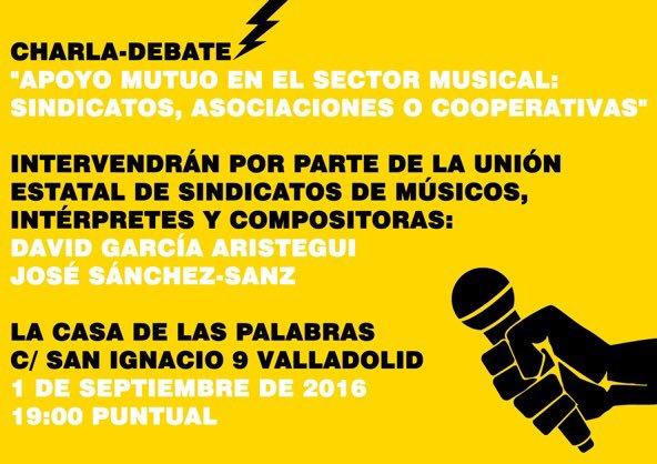 Apoyo mutuo en el sector musical: sindicatos, asociaciones y cooperativas