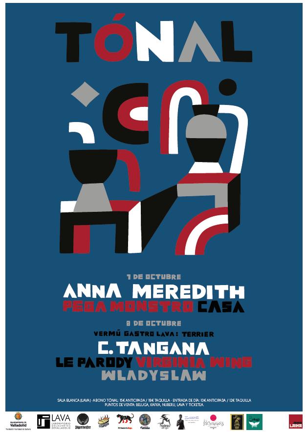 TÓNAL 2016. 7 y 8 de octubre. Laboratorio de las Artes de Valladolid (LAVA)