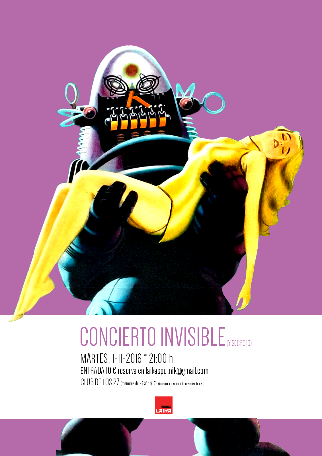 Concierto invisible (y secreto)