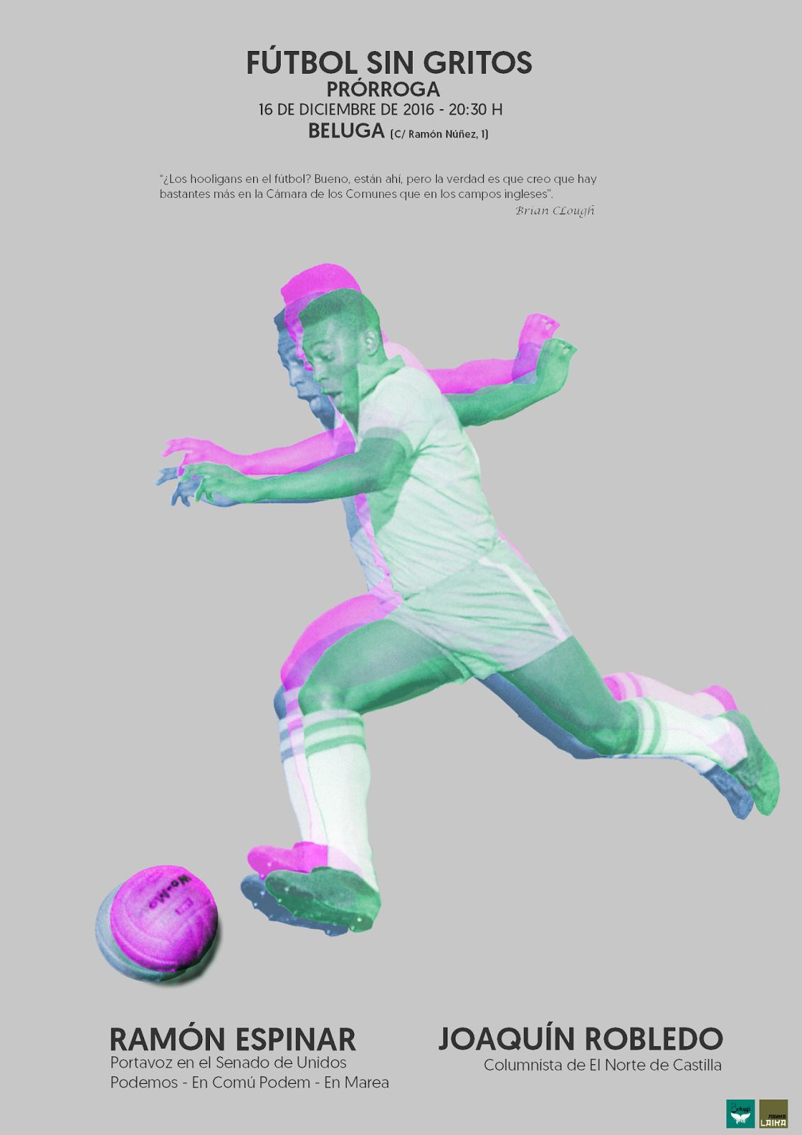 Prórroga de Fútbol sin gritos 2016