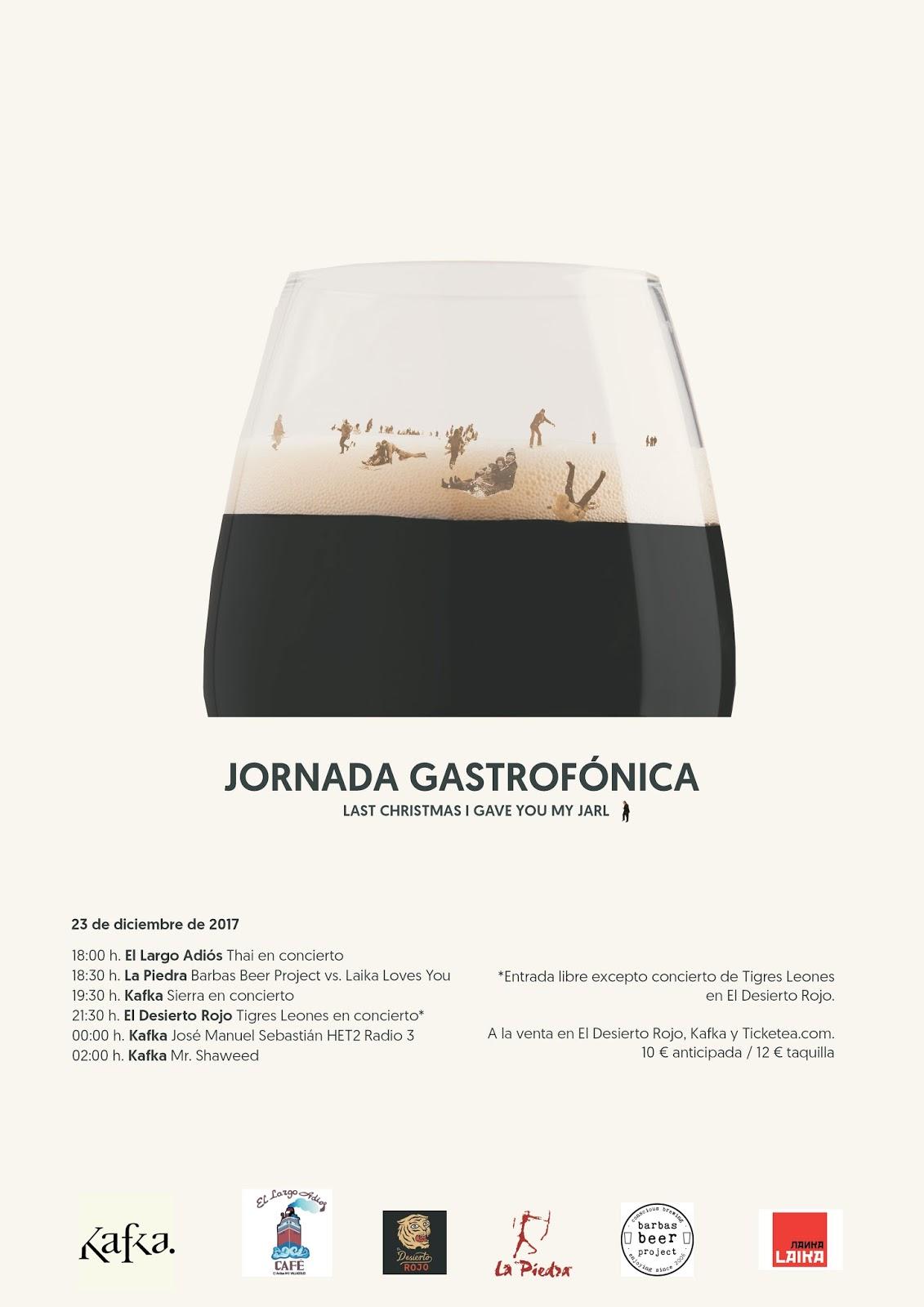 Jornada Gastrofónica – Last Christmas I Gave You My Jarl