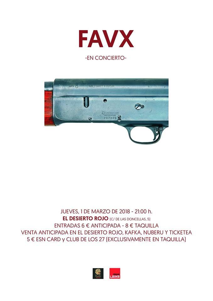 FAVX en concierto