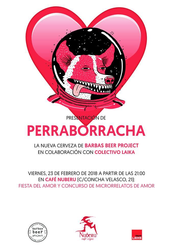 Presentación de perraborracha en Nuberu + Fiesta del amor